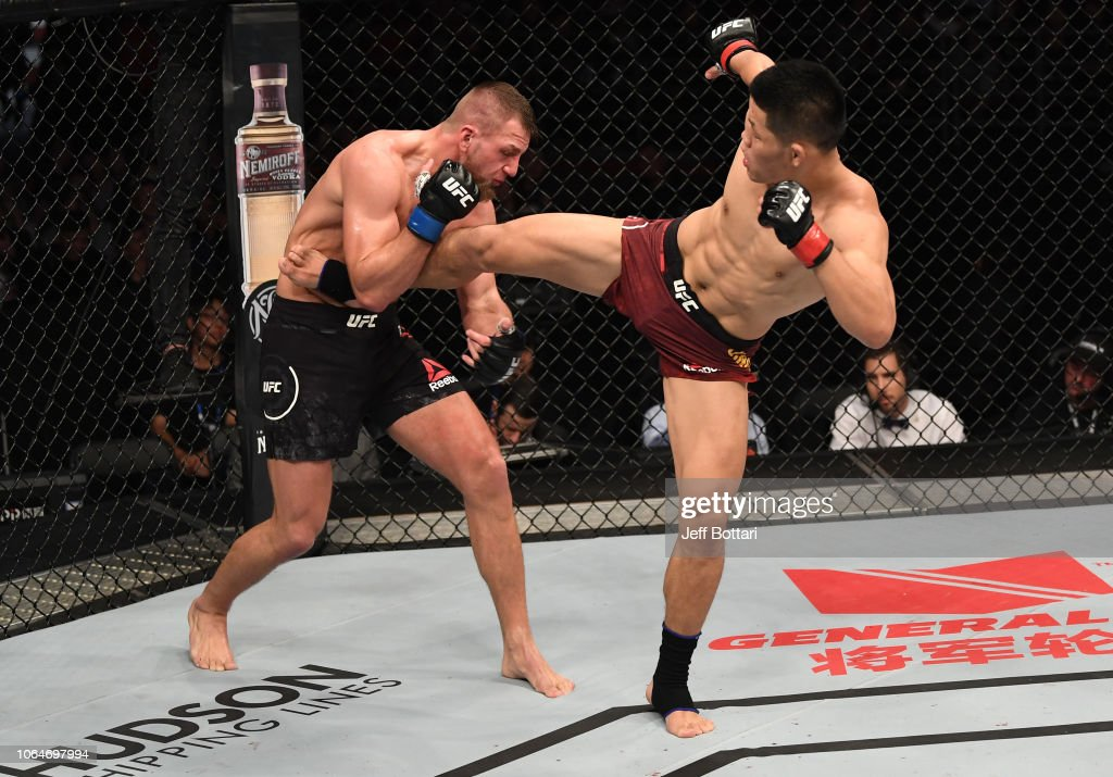 UFC Fight Night: Jingliang v Zawada : News Photo