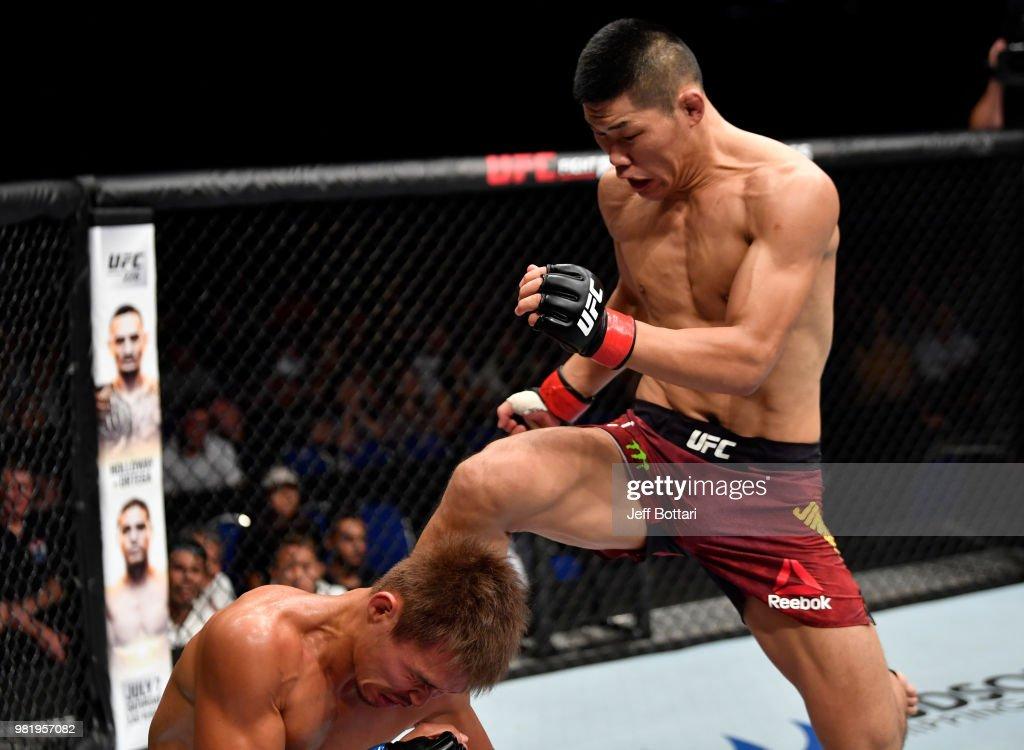 UFC Fight Night: Jingliang v Abe : News Photo