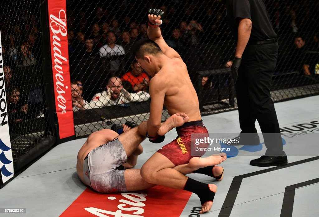 UFC Fight Night: Jingliang v Ottow : Fotografía de noticias