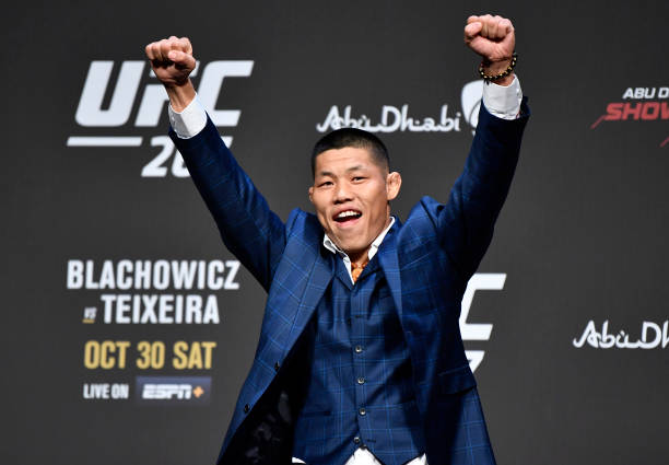 ARE: UFC 267 Press Conference