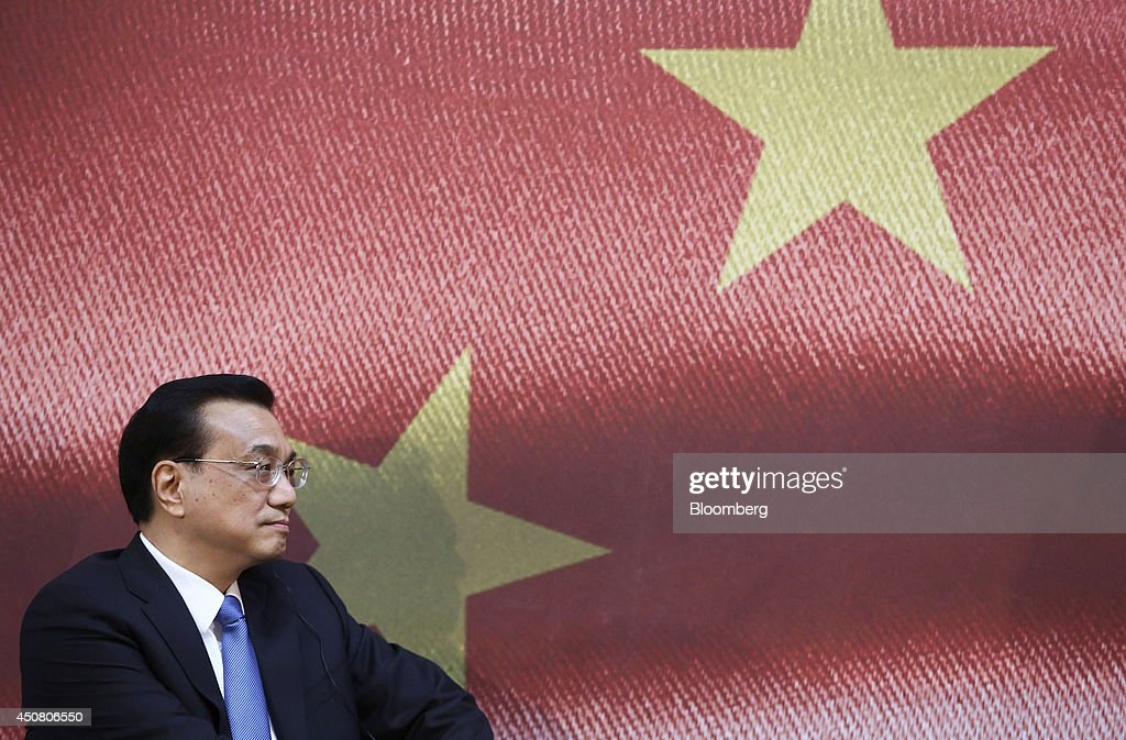 Chinese Premier Li Keqiang U.K. Visit : News Photo