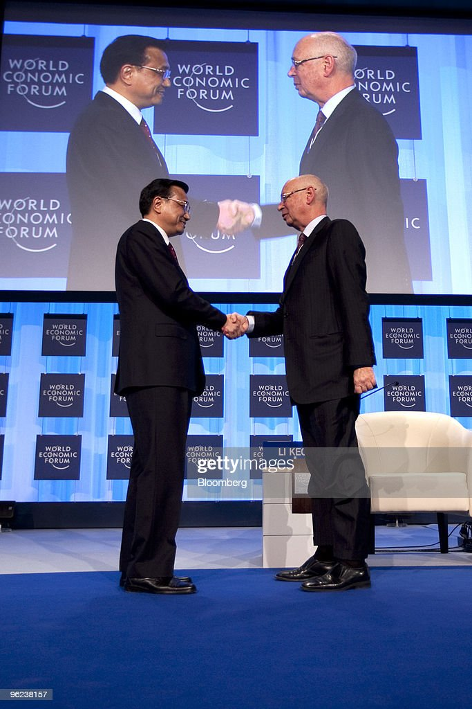 The Second Day Of The World Economic Forum In Davos