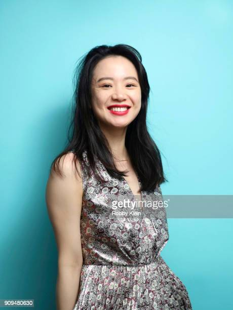 Li Meng from the film 'Dead Pigs' poses for a portrait in the YouTube x Getty Images Portrait Studio at 2018 Sundance Film Festival on January 20...