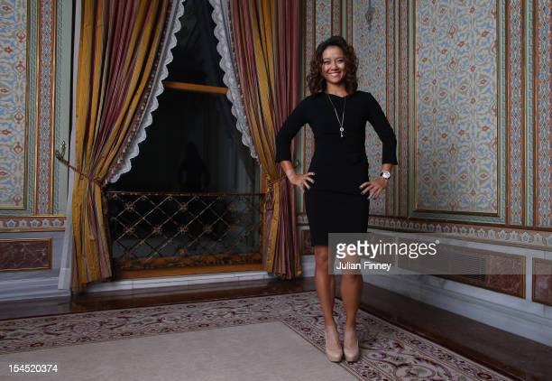 Li Na of China poses for a portrait during previews for the TEB BNP Paribas WTA Championships - Istanbul on October 21, 2012 in Istanbul, Turkey.