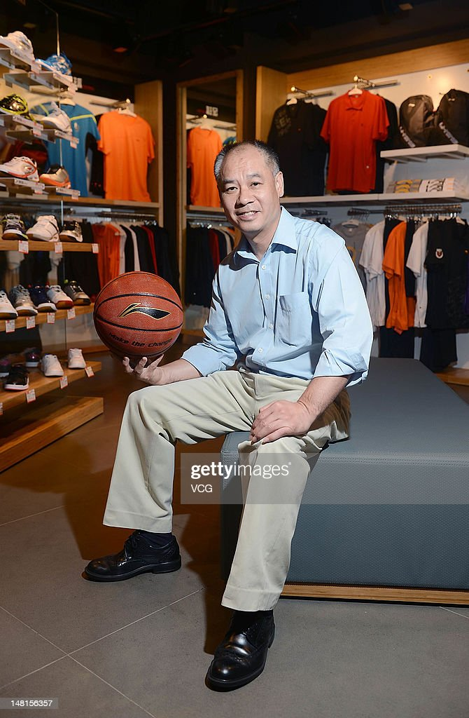 Li Ning, founder and chairman of Li Ning Co., visits a Li Ning flagship store on July 10, 2012 in Chengdu, China. Li Ning Co Ltd saw its chief executive officer step down as a part of a three-stage transformation program aimed at regenerating the company's profitability on July 5.