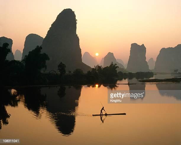Li River at dawn