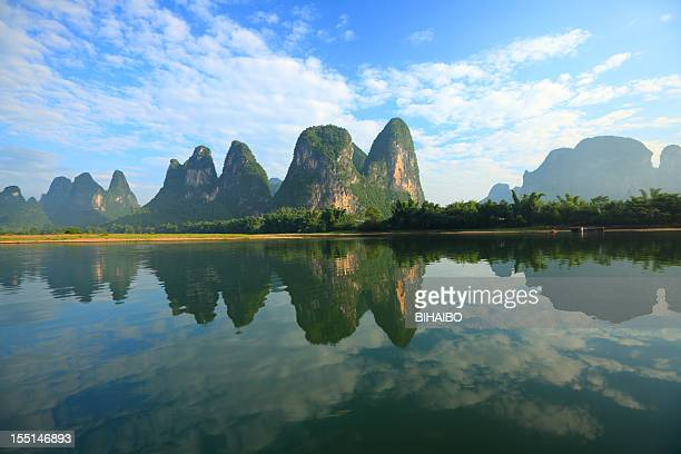 li river - karst formation stock pictures, royalty-free photos & images