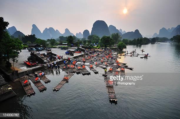 Li river sunset
