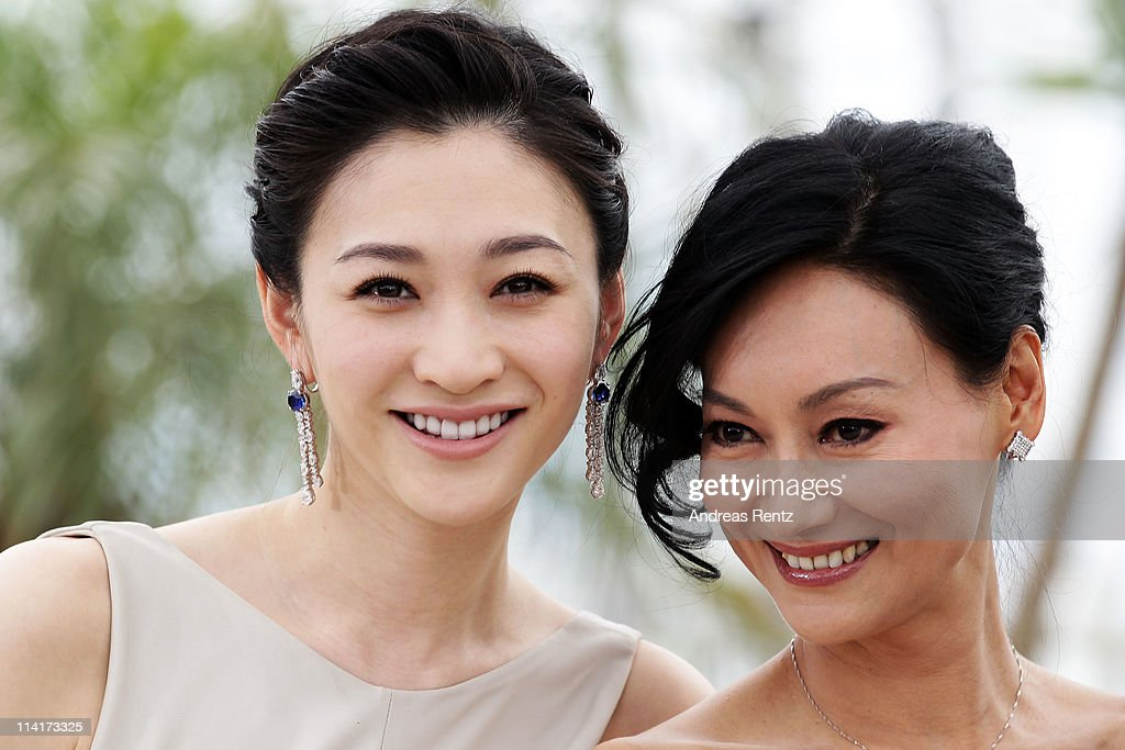 Li Xiao Ran (L) and Kara Hui attend the 'Wu Xia' Photocall at the Palais des Festivals during the 64th Cannes Film Festival on May 14, 2011 in Cannes, France.