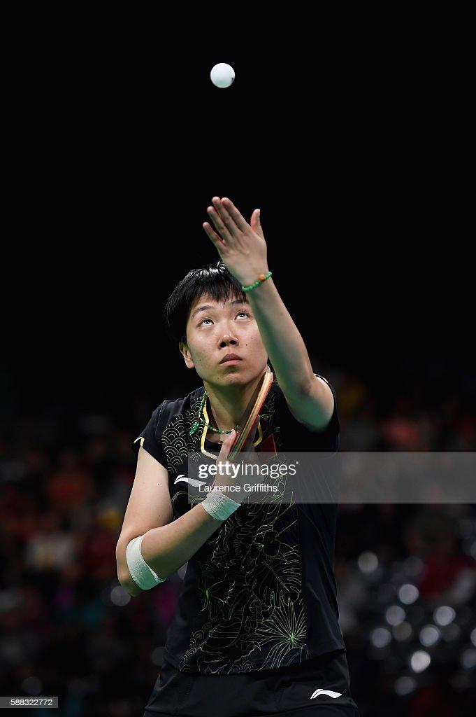 Table Tennis - Olympics: Day 5 : News Photo