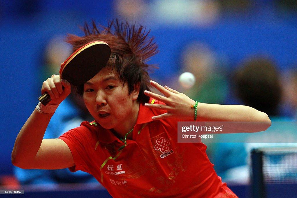 LIEBHERR Table Tennis Team World Cup 2012 - Day 2
