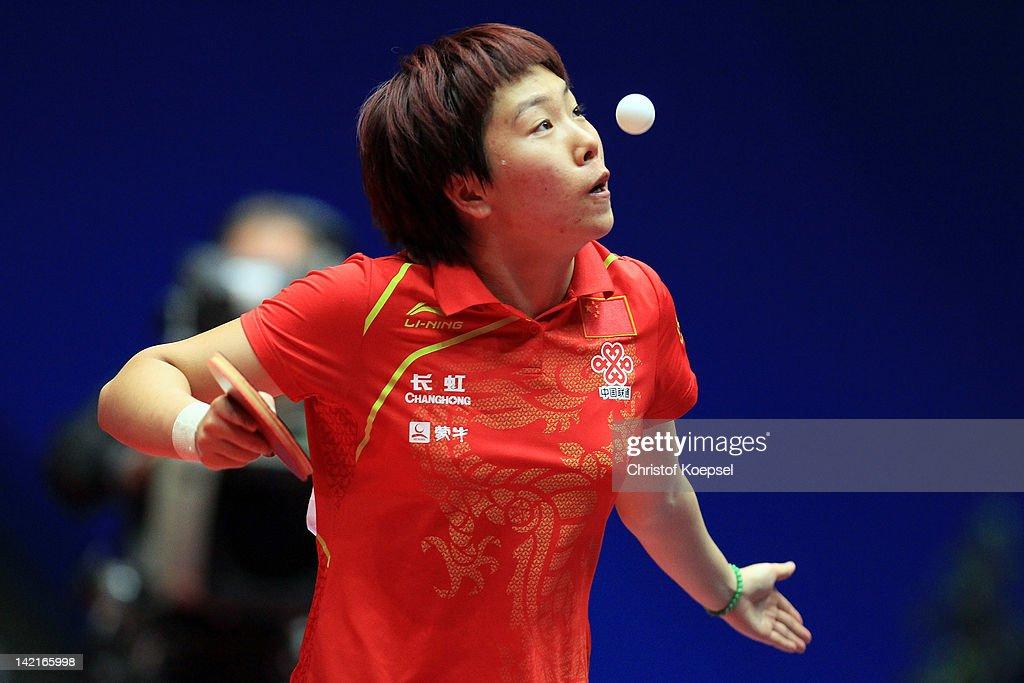 LIEBHERR Table Tennis Team World Cup 2012 - Day 7