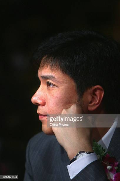 Li Yanhong CEO of Baiducom attends the 2006 CCTV Awards ceremony for China Economic Annual Celebrities on January 20 2007 in Beijing China Shang...