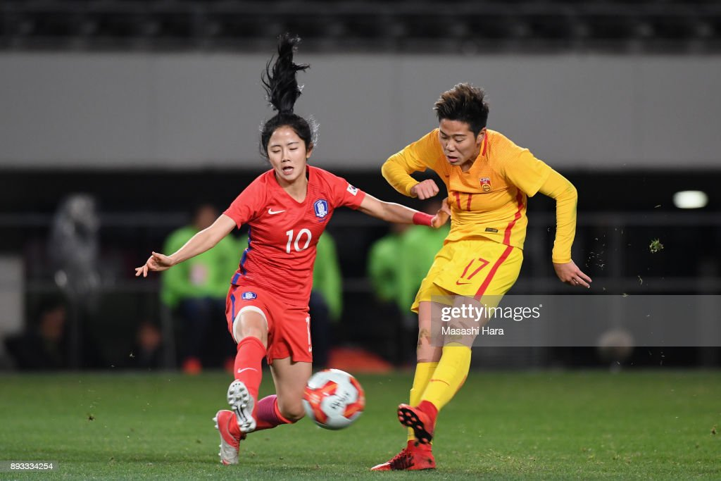 South Korea v China - EAFF E-1 Women's Football Championship
