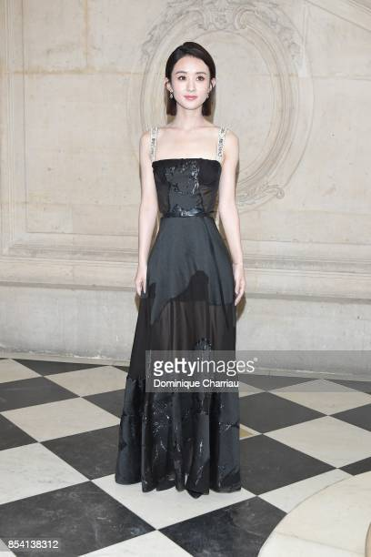 Li Ying Zhao attends the Christian Dior show as part of the Paris Fashion Week Womenswear Spring/Summer 2018 on September 26 2017 in Paris France