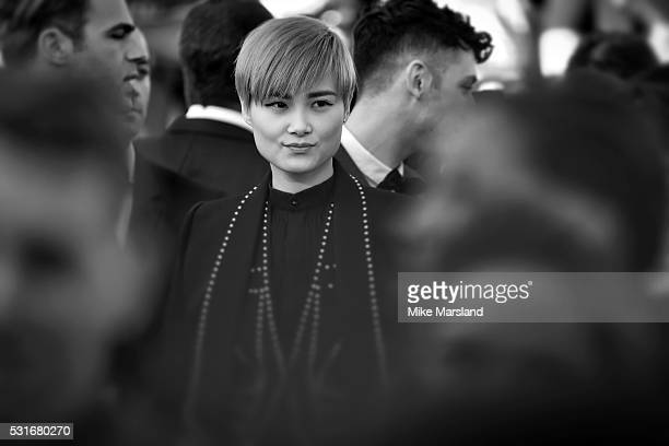 Li Yuchun aka Chris Lee attends the 'From The Land Of The Moon ' premiere during the 69th annual Cannes Film Festival at the Palais des Festivals on...