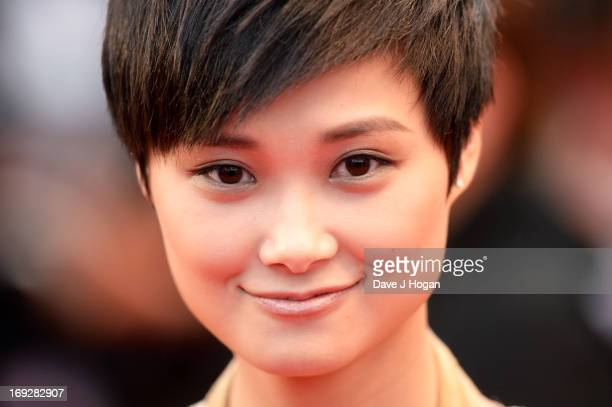 Li Yuchun attends the 'All Is Lost' Premiere during the 66th Annual Cannes Film Festival at Palais des Festivals on May 22 2013 in Cannes France