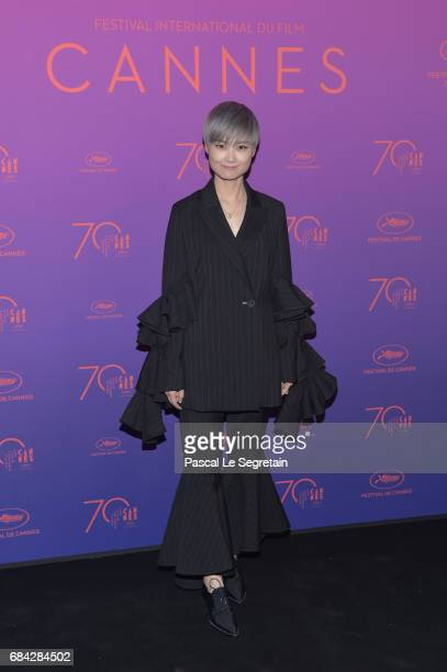 Li Yuchun attends the Opening Gala Dinner during the 70th annual Cannes Film Festival at Palais des Festivals on May 17 2017 in Cannes France