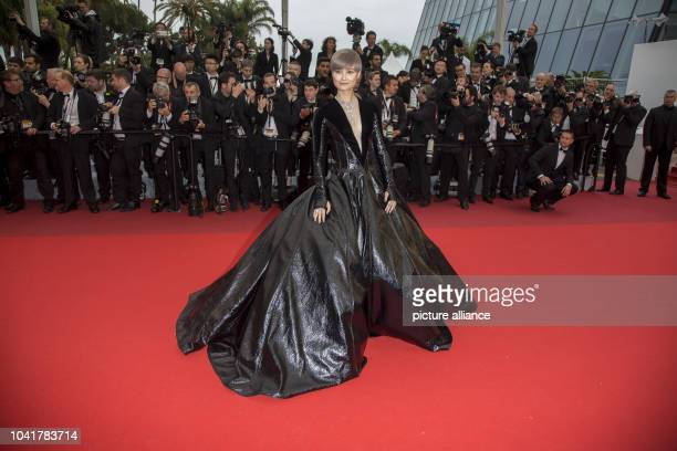 Li Yuchun attends the premiere of 'The BFG' during the 69th Annual Cannes Film Festival at Palais des Festivals in Cannes, France, on 14 May 2016....