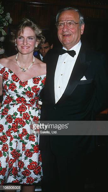 Lia Iacocca and Lee Iacocca during Steel Magnolias New York City Premiere Party at Puck Building in New York City New York United States