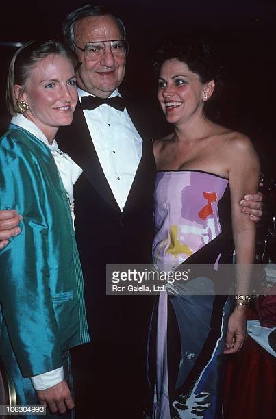 Lia Iacocca Lee Iacocca and Peggy Johnson during Me My Girl New York City Premiere Party at Marriott Marquis Hotel in New York City New York United...