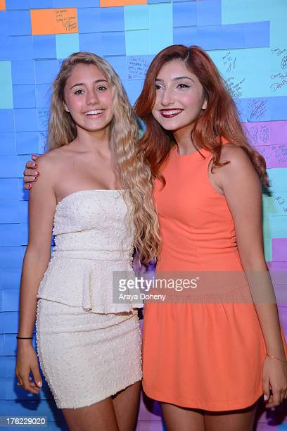 Lia Marie Johnson and Jennessa Rose attend Teen Choice Awards After 'Party' For A Cause Hosted by Boys Girls Clubs of America and Staples at Saddle...