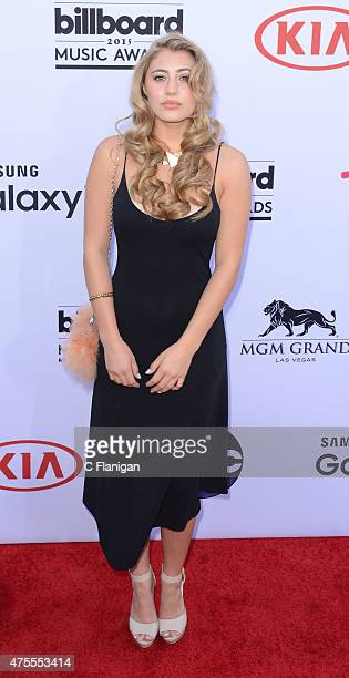 Lia Marie Johnson attends the 2015 Billboard Music Awards at MGM Grand Garden Arena on May 17 2015 in Las Vegas Nevada