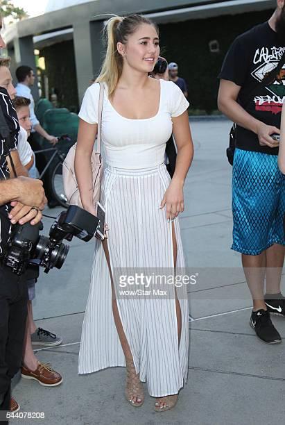 Lia Marie Johnson is seen on June 30 2016 in Los Angeles California