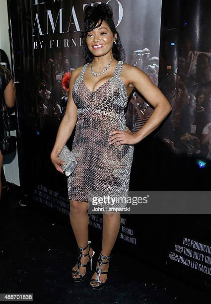 Lia Mira attends 'Inside Amato' New York premiere at Liberty Theater on September 16 2015 in New York City