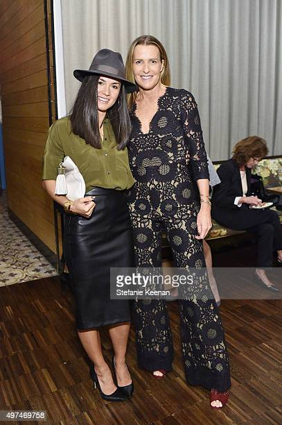02827ec895 Lia Pearalta and India Hicks attend Louise Roe And George Hamilton  Celebrate India Hicks With Exclusive