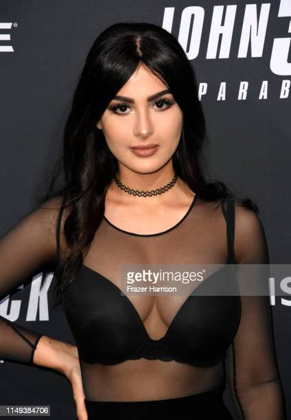 Lia Shelesh attends the special screening of Lionsgate's John Wick Chapter 3 Parabellum at TCL Chinese Theatre on May 15 2019 in Hollywood California