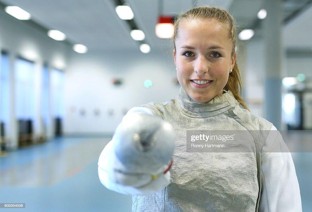 Lia Waelti of Potsdam during the Allianz Women's Bundesliga Club Tour on September 7, 2016 in Potsdam, Germany.