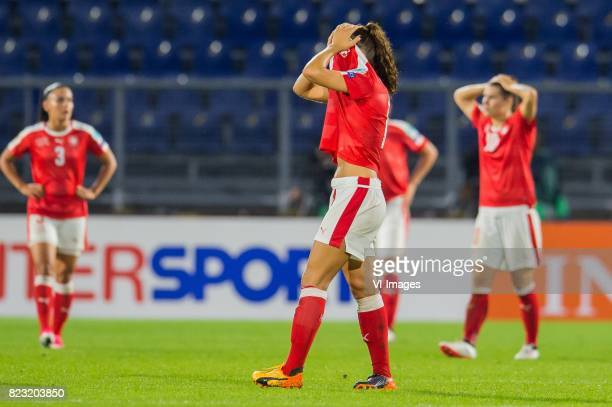 Lia Walti of Switzerland women during the UEFA WEURO 2017 Group C group stage match between Switzerland and France at the Rat Verlegh stadium on July...