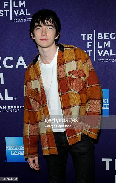 """Liam Aiken attends the """"The Killer Inside Me"""" premiere during the 9th Annual Tribeca Film Festival at the SVA Theater on April 27, 2010 in New York..."""