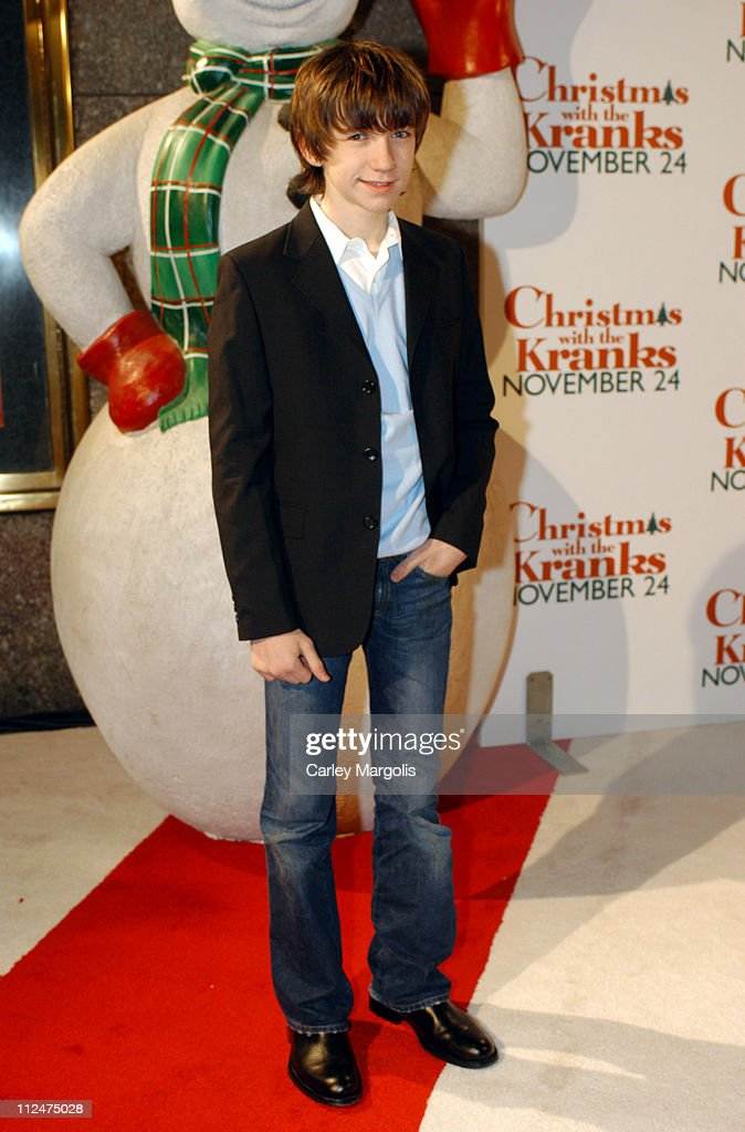 Liam Aiken during 'Christmas with the Kranks' New York Premiere at Radio City Music Hall in New York City, New York, United States.