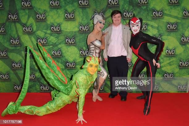 Liam Bairstow attends the Cirque Du Soleil's OVO Premiere at The Liverpool Echo Arena on August 16 2018 in Liverpool England