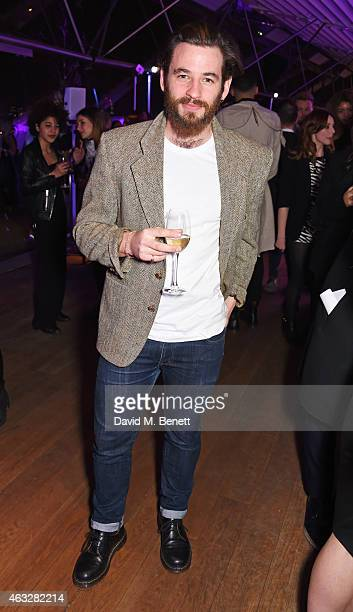 Liam Bergin attends a cocktail party hosted by haircare brand John Frieda to celebrate the launch of their 2015 products at Oxo Tower Wharf on...