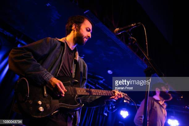 Liam Betson of Titus Andronicus performs at Whelan's on September 9 2018 in Dublin Ireland