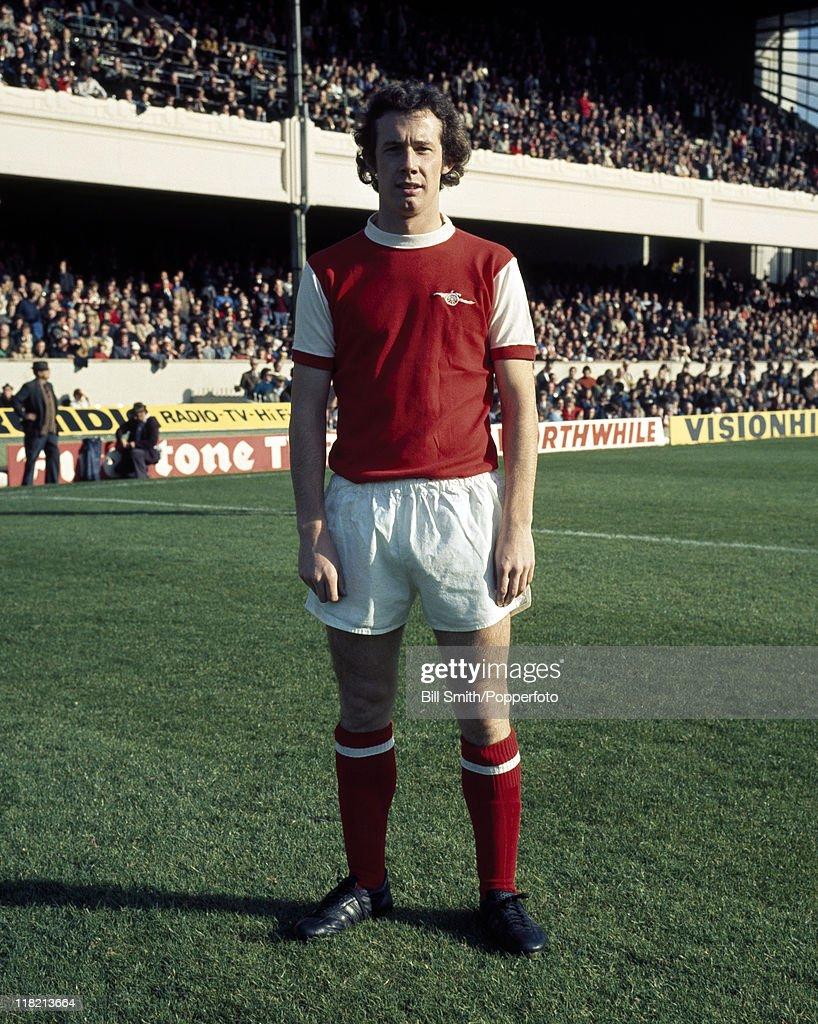 Liam Brady  -  Arsenal : News Photo
