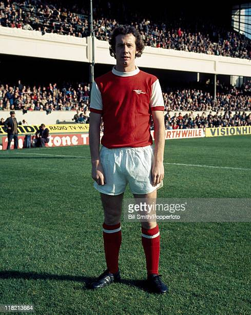 Liam Brady of Arsenal at Highbury September 1976