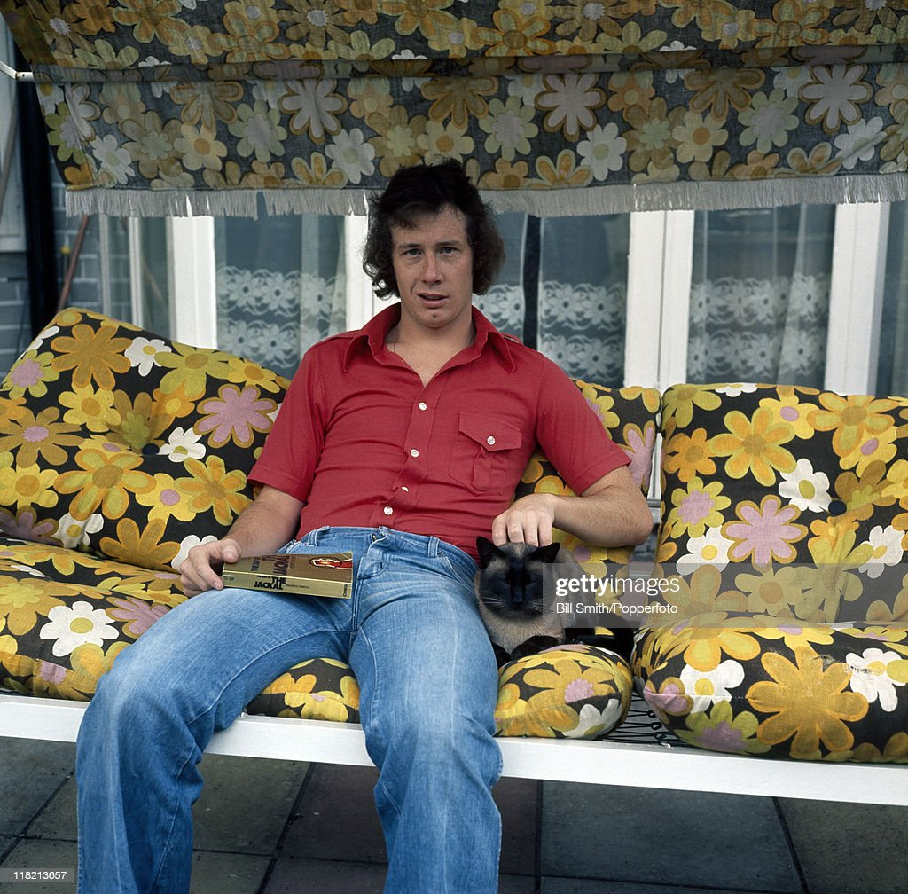 6efca1beea8 Liam Brady of Arsenal at home in London