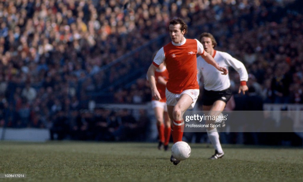 Liam Brady Of Arsenal In Action During The Fa Cup Semi Final Between Arsenal And Liverpool