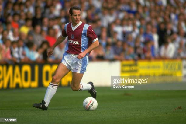 Liam Brady of West Ham United in action during a Barclays League Division One match against Derby at Upton Park in London The match ended in a 11...