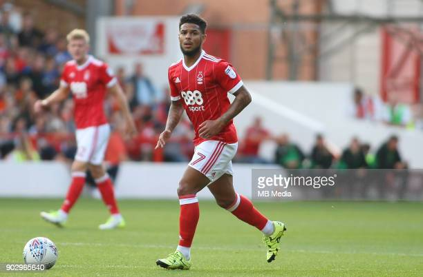 Liam Bridcutt in midfield action during the first half of the EFL fixture between Nottingham Forest and Leeds United at The City Ground Nottingham...