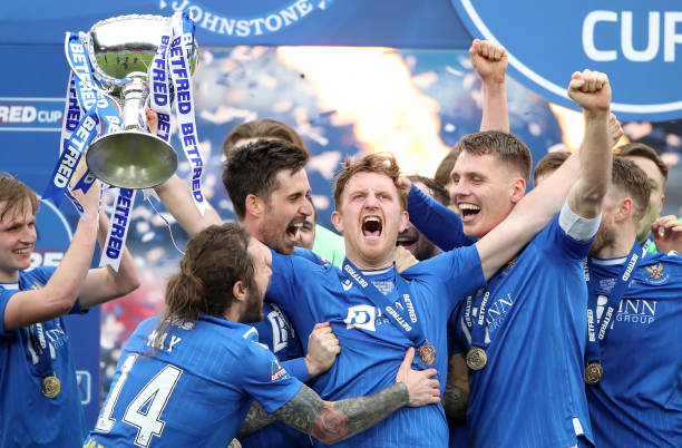 GBR: Livingston v St. Johnstone - Betfred Cup Final