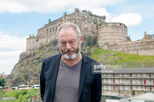 Liam Cunningham attends 'Let us pray' photocall at Apex International Hotel during the Edinburgh International Film Festival on June 20 2014 in...