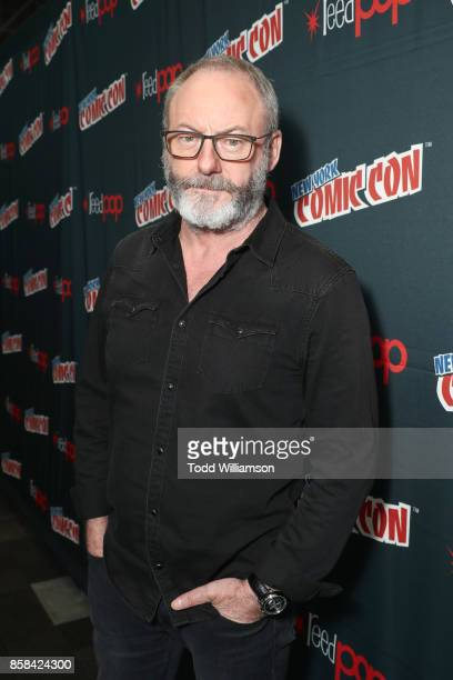 Liam Cunningham attends 'The World of Philip K Dick' The Man in the High Castle and Philip K Dick's Electric Dreams Press Room at The Jacob K Javits...