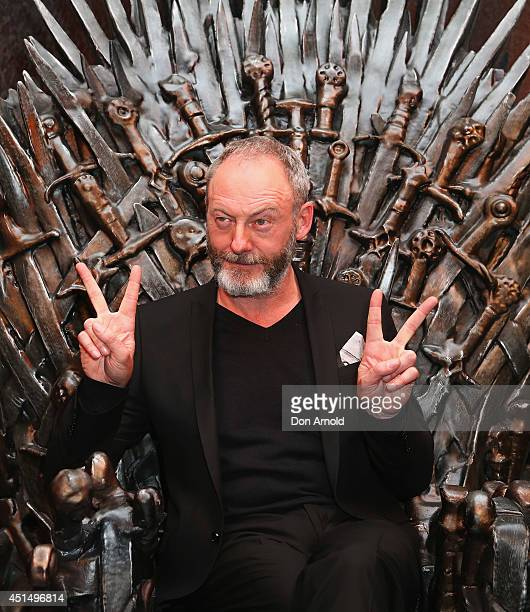 Liam Cunningham poses at the launch of the Game Of Thrones Exhibition at Museum of Contemporary Art on June 30 2014 in Sydney Australia