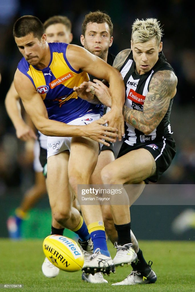 AFL Rd 18 - Collingwood v West Coast