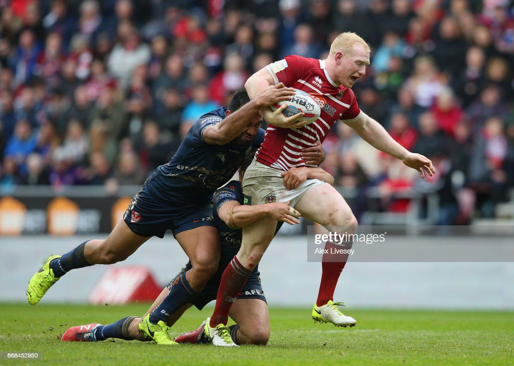 Wigan Warriors v St Helens - Betfred Super League : News Photo